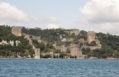 Rumeli Hisari Fortress in Istanbul, Turkey Stock Images