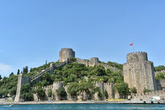 Rumeli Hisari, Istanbuł, Turcja (Rumeli forteca) Zdjęcie Stock