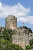 Rumeli Hisari, Istanbuł, Turcja (Rumelian kasztel) Obraz Royalty Free