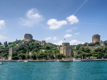 Rumeli Hisari in Istanbul Royalty Free Stock Images