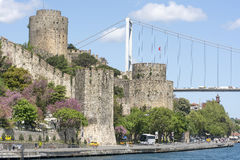 Rumeli Hisari &#x28 Rumelian Fortress&#x29 , Ιστανμπούλ, Τουρκία Στοκ Εικόνα
