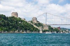Rumelian Castle in Istanbul Royalty Free Stock Image