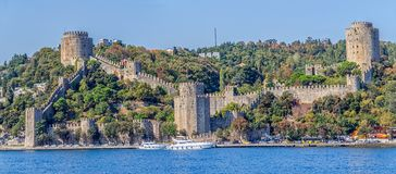 Rumelihisari castle Stock Photography
