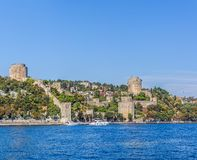 Rumelihisari castle Royalty Free Stock Photos
