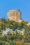 Rumelihisari castle Royalty Free Stock Photo