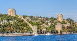 Rumelihisari castle Royalty Free Stock Image