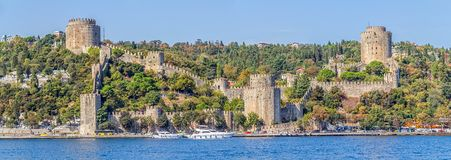 Rumelihisari castle Royalty Free Stock Photography