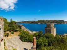 Rumelihisari fortress Royalty Free Stock Photo