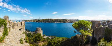 Rumelihisari fortress Royalty Free Stock Image
