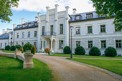 Free Rumene Manor In Latvia. 2017 Royalty Free Stock Image - 97581156