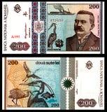 200 rumeno anziano Bill di Lei 1992 Fotografia Stock