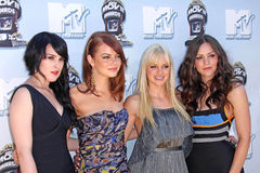 Anna Faris, Emma Stone, Rumer, Rumer Willis Στοκ εικόνα με δικαίωμα ελεύθερης χρήσης