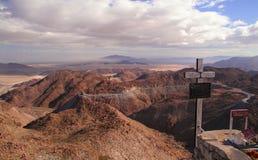 Rumerosa berg Baja Mexico Arkivbilder