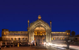 The Rumi Gate (Darwaza). In Lucknow, Uttar Pradesh, India, is an imposing gateway which was built under the patronage of Nawab Asaf-Ud-dowlah in 1784. It is an Royalty Free Stock Photos