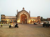 Rumi gate of lucknow . Photo of rumi gate of lucknow Awesome photo of  lucknow. Clicked by my mobile Redmi4 Stock Photos