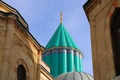 Rumi Tomb. Rumi aka Mevlana Tomb and Museum in Konya ,Turkey Stock Photo