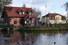Rumia Het gemeentelijke Park in Rumia, Polen Stock Foto