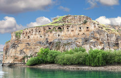 Rumkale fortress Royalty Free Stock Images
