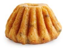 Rumkuchen, lokalisiert auf Weiß Stockfoto
