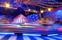 Rummelplatzfahrt Lizenzfreies Stockfoto