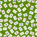 Rummy bessert Muster aus Lizenzfreie Stockbilder