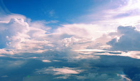 Rummy clouds Royalty Free Stock Image