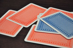 Rummy karty obraz royalty free