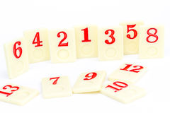 Rummy pieces Stock Photography