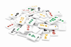 Rummy pieces Stock Image