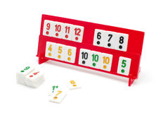 Rummy pieces Royalty Free Stock Photo