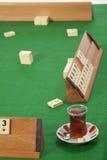 Rummy stół zdjęcie stock
