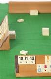 Rummy Tabelle Stockfoto