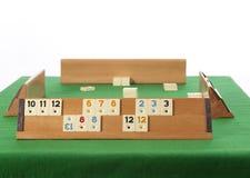 Rummy Tabelle Lizenzfreies Stockfoto