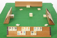 Rummy table Royalty Free Stock Images