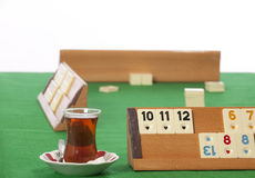 Rummy table Royalty Free Stock Photography