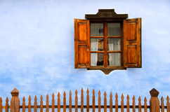 Rumänien - traditionelles Haus Stockfotografie
