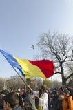 Rumäniens Nationaltag Stockfotos
