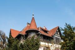 Rumänische Architektur Stockfotos