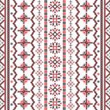 Rumänsk broderimodell Arkivfoto