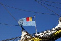 Rumänska Marine Symbol Arkivfoton