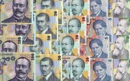 Rumänska pengar Fotografering för Bildbyråer