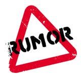 Rumor rubber stamp Royalty Free Stock Image