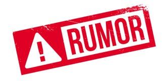 Rumor rubber stamp Royalty Free Stock Photos