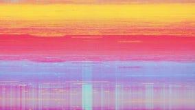 Rumore della neve del pixel di Digital dello schermo della televisione Immagini Stock Libere da Diritti