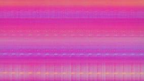 Rumore della neve del pixel di Digital dello schermo della televisione video d archivio