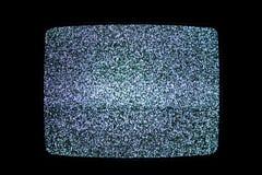 Rumore della televisione Fotografia Stock Libera da Diritti