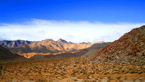 Rumorosa desert Royalty Free Stock Photo