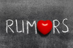 Rumors Stock Photos