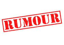 RUMOUR Stock Photo