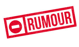 Rumour rubber stamp Stock Image